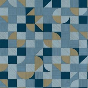 Μοντέρνα Ταπετσαρία Τοίχου Ξύλινο Γεωμετρικό Μοτίβο  – Parato, Materika – Decotek 29916