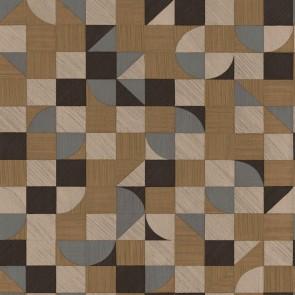 Μοντέρνα Ταπετσαρία Τοίχου Ξύλινο Γεωμετρικό Μοτίβο  – Parato, Materika – Decotek 29919