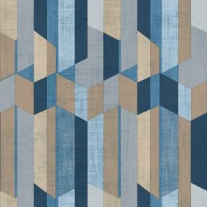 Ταπετσαρία Τοίχου Ξύλινα Γεωμετρικά Σχήματα  – Parato, Materika – Decotek 29926