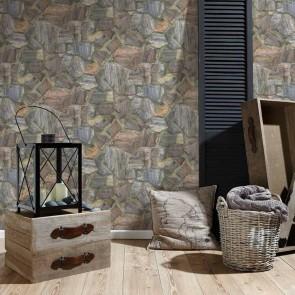 Ταπετσαρία Τοίχου Πέτρα - AS Creation, Best Of WoodnStone 2 - Decotek 307241