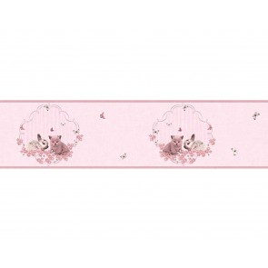 Παιδική Μπορντούρα Τοίχου Ζωάκια – AS Creation, Little Stars – Decotek 355671