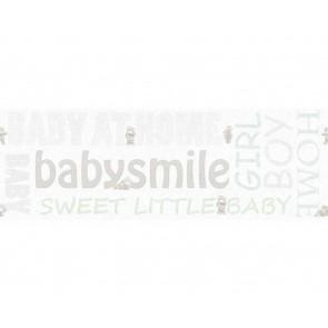 Παιδική Μπορντούρα Τοίχου Γράμματα και Αρκουδάκια  – AS Creation, Little Stars – Decotek 358481
