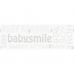 Παιδική Μπορντούρα Τοίχου Γράμματα και Αρκουδάκια  – AS Creation, Little Stars – Decotek 358482