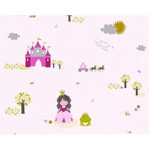 Παιδική Ταπετσαρία Τοίχου Πριγκίπισσες  – AS Creation, Little Stars – Decotek 358521