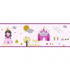 Παιδική Μπορντούρα Τοίχου Πριγκίπισσες  – AS Creation, Little Stars – Decotek 358531