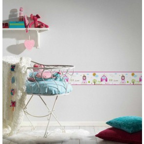 Παιδική Μπορντούρα Τοίχου Πριγκίπισσες  – AS Creation, Little Stars – Decotek 358532