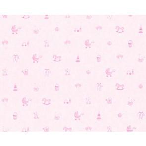 Παιδική Ταπετσαρία Τοίχου Μπεμπέ  – AS Creation, Little Stars – Decotek 358541