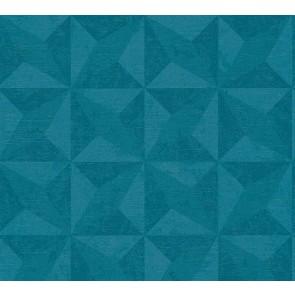 3D Ταπετσαρία Τοίχου Γεωμετρικά Σχήματα – Living Walls, Titanium 2 – Decotek 360011