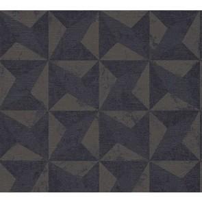 3D Ταπετσαρία Τοίχου Γεωμετρικά Σχήματα – Living Walls, Titanium 2 – Decotek 360012
