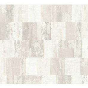 Ταπετσαρία Τοίχου Γεωμετρικά Σχήματα – Living Walls, Titanium 2 – Decotek 360022