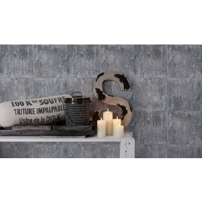 Ταπετσαρία Τοίχου Μέταλλο – AS Creation, Neue Bude 2.0 – Decotek 361183