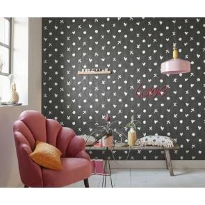 Ταπετσαρία Τοίχου Καρδιές  - Living Walls Cozz - Decotek 362941