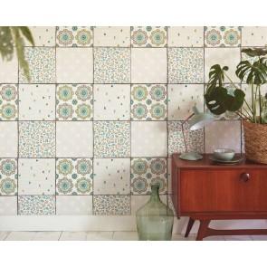 Ταπετσαρία Τοίχου Πλακάκι   - Living Walls Cozz - Decotek 362963