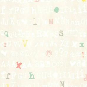 Ταπετσαρία Τοίχου Γράμματα   - Living Walls Cozz - Decotek 362982