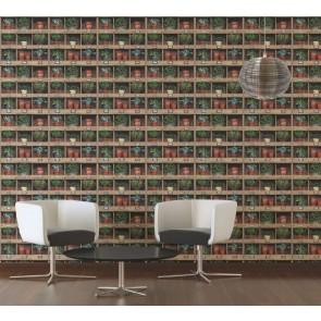 Ταπετσαρία Τοίχου Ράφια - AS Creation, Authentic Walls 2 - Decotek 364861