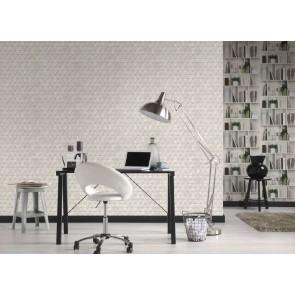 Ταπετσαρία Τοίχου Γεωμετρικά Σχήματα - AS Creation, Authentic Walls 2 - Decotek 366222
