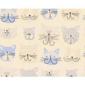 Ταπετσαρία Τοίχου Γάτες - AS Creation, Boys and Girls 6 - Decotek 367541