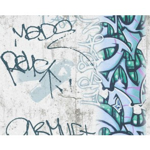 Ταπετσαρία Τοίχου Γκράφιτι - AS Creation, Boys and Girls 6 - Decotek 369862