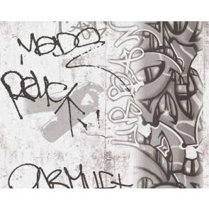 Ταπετσαρία Τοίχου Γκράφιτι - AS Creation, Boys and Girls 6 - Decotek 369863