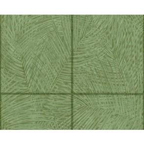 Ταπετσαρία Τοίχου Τροπικά Φυτά, Πλακάκι - As Creation, Sumatra - Decotek 373721