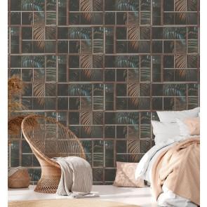 Θεματική Ταπετσαρία τοίχου Φλοράλ – AS Creation, Industrial – Decotek 377401