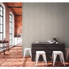 Ταπετσαρία Τοίχου Γεωμετρικό Μοτίβο,Καρό και Ρίγες  – Livingwalls, Metropolitan StoriesII  – Decotek 378693