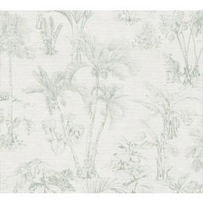 Φλοράλ Ταπετσαρία Τοίχου Ζούγκλα – AS Creation, Cuba  – Decotek 380212