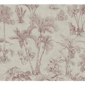 Φλοράλ Ταπετσαρία Τοίχου Ζούγκλα – AS Creation, Cuba  – Decotek 380213