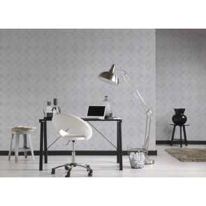Ταπετσαρία Τοίχου Πλακάκι, Γεωμετρικά Σχήματα – Living Walls, Titanium 3 – Decotek 381961