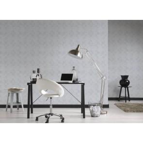 Ταπετσαρία Τοίχου Πλακάκι, Γεωμετρικά Σχήματα – Living Walls, Titanium 3 – Decotek 381962