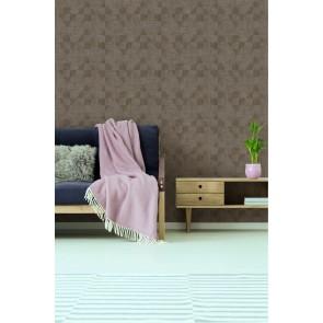 Ταπετσαρία Τοίχου Πλακάκι, Γεωμετρικά Σχήματα – Living Walls, Titanium 3 – Decotek 381964