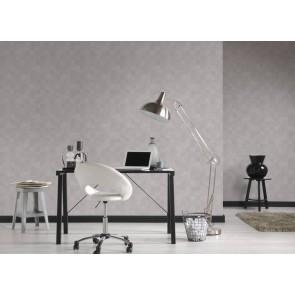 Ταπετσαρία Τοίχου Πλακάκι, Γεωμετρικά Σχήματα – Living Walls, Titanium 3 – Decotek 382002