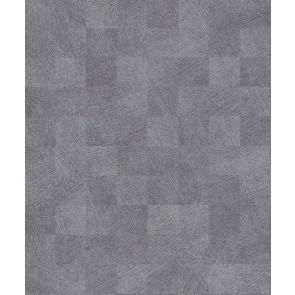 Ταπετσαρία Τοίχου Πλακάκι, Γεωμετρικά Σχήματα – Living Walls, Titanium 3 – Decotek 382004