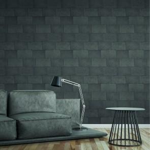 Ταπετσαρία Τοίχου Πέτρα,Τούβλο – Living Walls, Titanium 3 – Decotek 382016