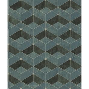 Μοντέρνα Ταπετσαρία Τοίχου 3D Γεωμετρικά Σχήματα – Living Walls, Titanium 3 – Decotek 382023