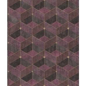 Μοντέρνα Ταπετσαρία Τοίχου 3D Γεωμετρικά Σχήματα – Living Walls, Titanium 3 – Decotek 382025