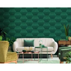 Ταπετσαρία Τοίχου Μοντέρνο Γεωμετρικό Μοτίβο – Living Walls, Titanium 3 – Decotek 382041