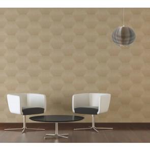 Ταπετσαρία Τοίχου Μοντέρνο Γεωμετρικό Μοτίβο – Living Walls, Titanium 3 – Decotek 382044