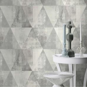 Ταπετσαρία Τοίχου Γεωμετρικά σχήματα - Rasch, Hide Park - Decotek 410945