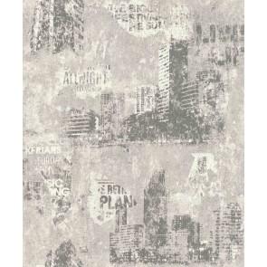 Ταπετσαρία Τοίχου Πόλη - Rasch, Kids & Teens 3 - Decotek 821208