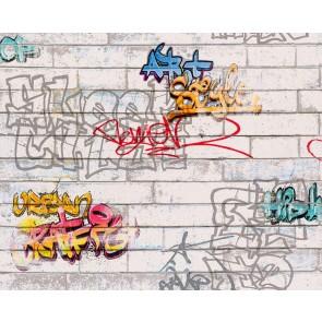 Ταπετσαρία Τοίχου Γκράφιτι - AS Creation, Boys and Girls 6 - Decotek 935611