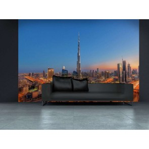 Φωτοταπετσαρία Τοίχου Ντουμπάι - W+G - Decotek 0973