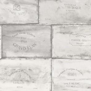 Ταπετσαρία Τοίχου Κιβώτια Κρασιού - Galerie, Kitchen Style 3 - Decotek CK36612