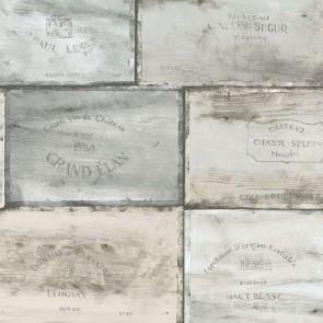 Ταπετσαρία Τοίχου Κιβώτια Κρασιού - Galerie, Kitchen Style 3 - Decotek CK36613