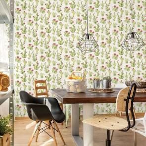 Ταπετσαρία Τοίχου Κάκτοι - Galerie, Kitchen Style 3 - Decotek CK36630
