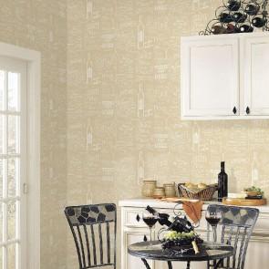 Ταπετσαρία Τοίχου Κρασιά - Galerie, Kitchen Style 3 - Decotek CK36632