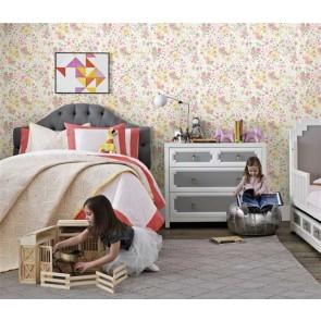 Παιδική Ταπετσαρία Τοίχου Φλοράλ - York, Wallcoverings Baby&Kids  - Decotek DW2383
