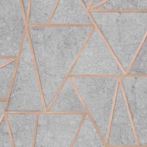 Ταπετσαρία Τοίχου Γεωμετρικά σχήματα - Grandeco, Exposure - Decotek ep3703