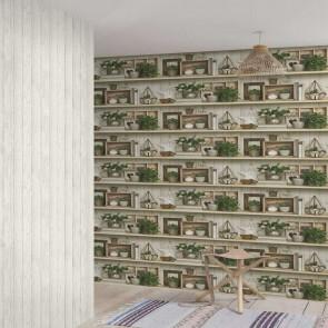 Ταπετσαρία Τοίχου Ράφια - Grandeco, Exposure - Decotek ep3802