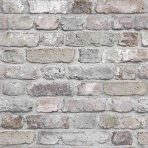 Ταπετσαρία Τοίχου Τούβλο - Grandeco, Façade - Decotek fc2501